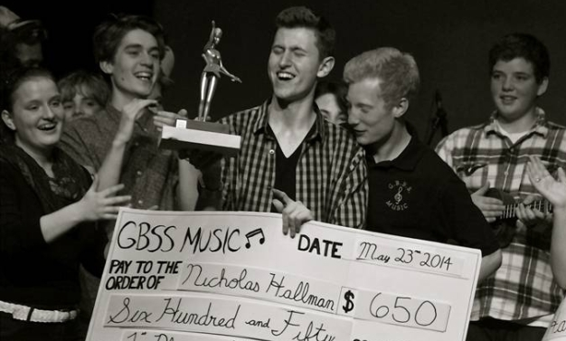 Nick Hallman, winner of GBSS Idol, Season Four